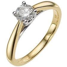 gold diamond rings yellow gold engagement rings ernest jones