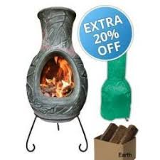 Extra Large Clay Chiminea Ellipse Chiminea Extra Large In Charcoal Chimineashop Co Uk