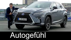 lexus suv hybrid 7 seater lexus rx 450h f sport full review test driven all new gen hybrid