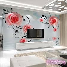 fresque murale chambre personnalisé grande fresque salon canapé chambre tv toile de fond