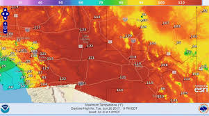 Phoenix Weather Map by 120 Degrees Is A Lot U2014 Even For Phoenix The Boston Globe