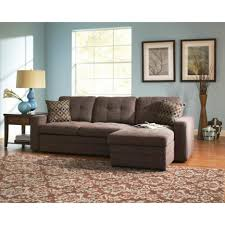 Couch Small Space Living Room Modern Bonded Leather Sectional Sofa Small Spaces