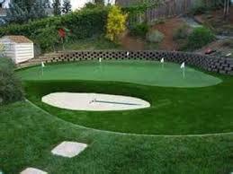 Diy Backyard Putting Green by Landscaping Plans Artificial Putting Green Cost Inspiring