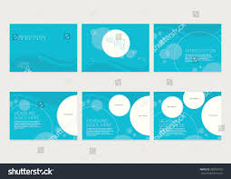 Catalogue Cover Page Design Templates by Presentation Slides Template Design Brochure Cover Stock Vector