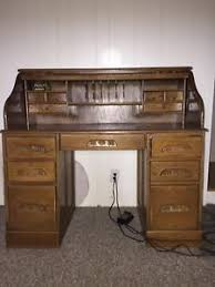 my desk has no drawers oak roll top desk ebay
