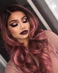 hair colours 50 rose gold hair ideas herinterest com