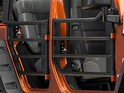 2007 jeep wrangler unlimited accessories aries automotive wrangler tubular front doors ar15009 07 17