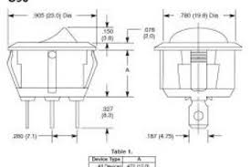 ac lighted rocker switch wiring diagram wiring diagram