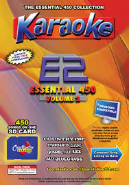 country music karaoke free chartbuster essential 450 vol 2 mp3g sd card