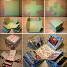 photo album box how to diy creative box photo album photo store digital
