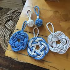 nautical rope knot sailor ornaments made in usa by mystic