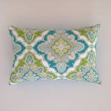 outdoor cushion turquoise baroque from villadeluxeboutique on