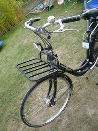 siege velo avant le vélo brouette le porte bagage avant