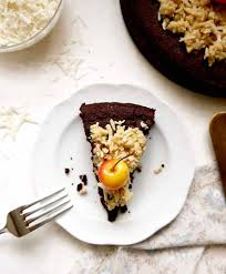 paleo german chocolate cake gf perchance to cook