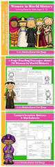 women in world history activity pack comprehension worksheets