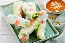where to buy rice wrappers avocado and prawn rice paper rolls