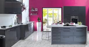 couleurs cuisines cuisine laquée grise recherche idées cuisine
