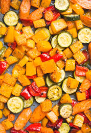 Roast Vegetables Recipe by Easy Roasted Veggies With Quinoa U0026 Pesto Deliciouslyella