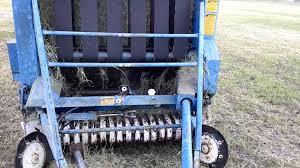 baling bermudagrass hay 18 june 2014 youtube