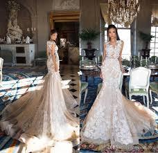 gorgeous wedding dresses milla 2018 mermaid lace wedding dresses 3d floral chagne