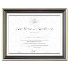 document frame gold trimmed document frame w certificate by dax daxn2709n6t