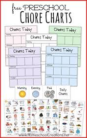 25 free printable chore charts for kids welcome to the family table