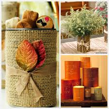 Home Decor With Burlap Decorating A Bedroom With Burlap Tin Can Crafts U2013 22 Fun Ideas