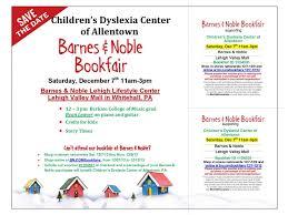 Barnes And Noble Bethlehem Pa Children U0027s Dyslexia Center Of Allentown Book Fair At Barnes