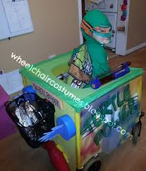 wheelchair costumes teenage mutant ninja turtles