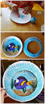 Pinterest Crafts For Kids To Make - finding dory paper plate craft for kids to make it looks like a