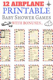airplane baby shower 18 airplane baby shower ideas that are adorable print my baby shower