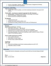 Fresher Resume Model B A And B Com Freshers Resume Samples U0027 In Latest Trends 2016