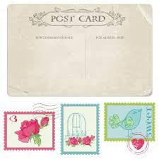 timbre poste mariage postale vintage et timbres poste pour la conception du mariage