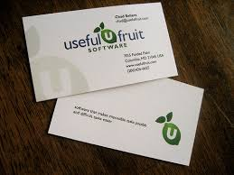 back business card useful fruit business card front back a photo on flickriver