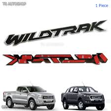 Ford Ranger Design Rear Tailgate Plastic 3d Wildtrak Emblem Logo For Ford Ranger Px2