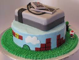 nintendo super mario brothers cake super sweet tooth