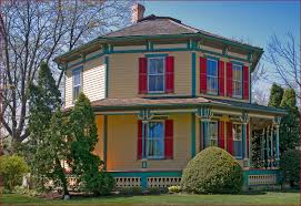 octagonal houses octagon house 223 west main street barrington il apri flickr