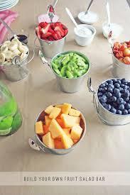 Buffet Items Ideas by Build Your Own Fruit Salad Bar Yummmmy Wedding Desserts