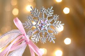 diy snowflake wands the gracious