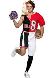 half cheerleader half football player costume must see