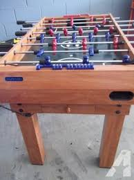 hockey foosball table for sale harvard foosball table with multiple games for sale in radford