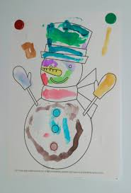 snowman do a dot printables for preschoolers crystalandcomp com