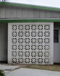 Decorative Concrete Block Screen Wall • Walls Decor