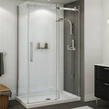 Maax Shower Door Maax 138996 900 Halo Sliding Shower Door 44 1 2 47 In Door