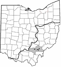 County Map Of Ohio Applying A Reservoir Functional Zone Paradigm To Littoral