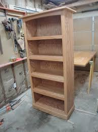red oak bookcase billy u0027s little bench
