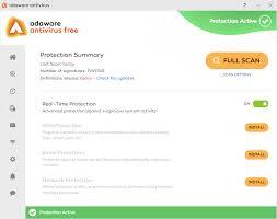 free anti virus tools freeware downloads and reviews from adaware free antivirus 12 2 889 free download software reviews