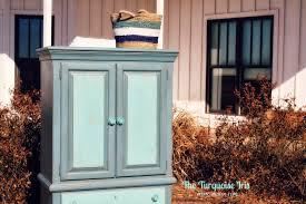 Vintage Armoire The Turquoise Iris Furniture U0026 Art Vintage Armoire In Tiffany Blue
