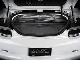 camaro speaker box jl audio stealthbox custom fit enclosure with two 10 w1v3