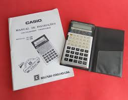 casio fc 200 financial calculator a japanese classic from around 1988